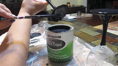 diy chalk paint wine glasses diy projects chalkboard paint wine glasses