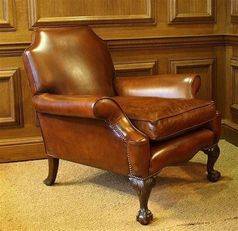 Antique Leather Armchair by Leather Chairs Of Bath Chelsea Design Quarter Antique