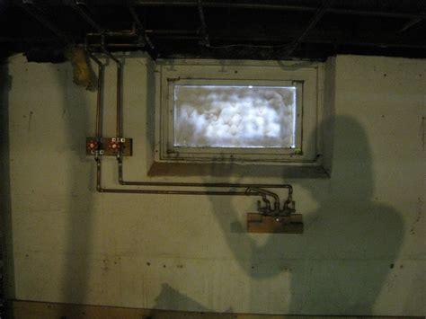 glass block basement window installation basement update i officially glassblock windows merrypad