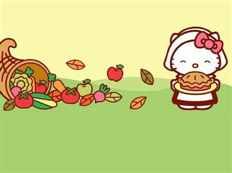 hello kitty thanksgiving wallpaper desktop 17 best images about hello kitty sanrio on pinterest