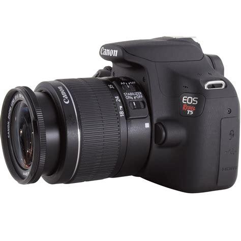 Kamera Canon Dslr Rebel T5 canon eos rebel t5 dslr with ef s 18 55mm lens