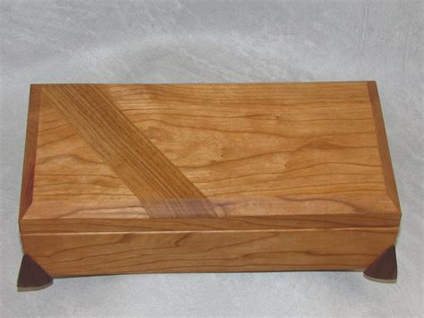 Handmade Keepsake Box - gift box handmade wood keepsake trinket jewelry valet boxes