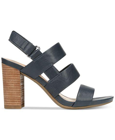 franco sarto sandals franco sarto jena sandals in black lyst