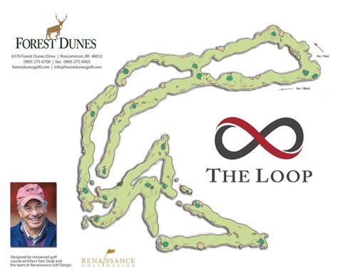 the loop at forest dunes golf course review preview