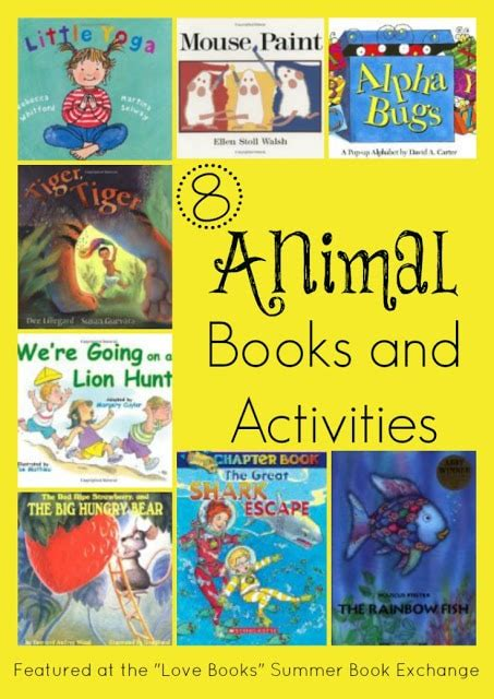 we became summer books 8 animal books activities from our quot books