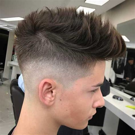 haircuts with long sides and shorter back short back and sides haircut men s hairstyles haircuts