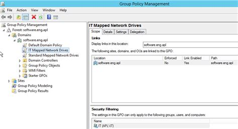 gpo mapped drives active directory policy drive maps not mapping