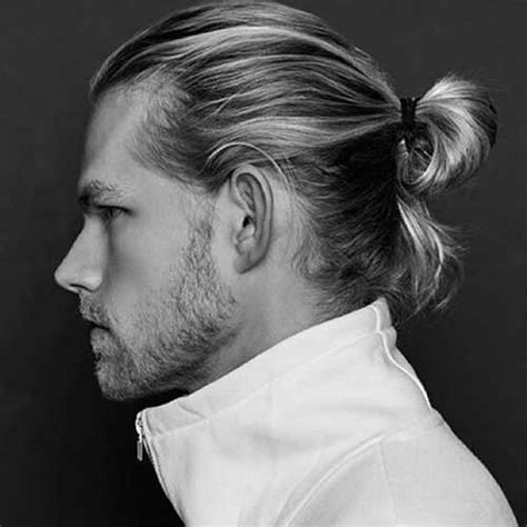 ponytail hairstyles for guys 15 mens ponytail hairstyles mens hairstyles 2018
