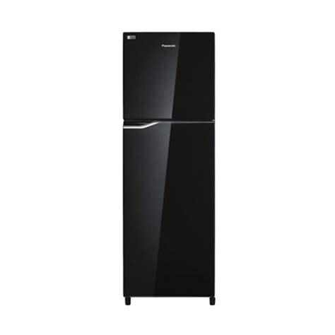Kulkas Panasonic 2 Pintu Freezer Dibawah jual panasonic nrbb258gk kulkas hitam 2 pintu 246l