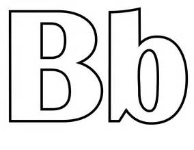 letter b coloring pages free coloring pages of alphabet tracing letter b