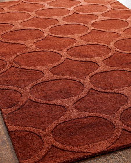 rust colored rug rust colored home decor popsugar home