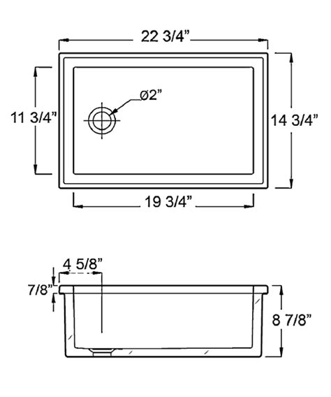 Kitchen Sink Specifications Utility Sink Sizes Befon For