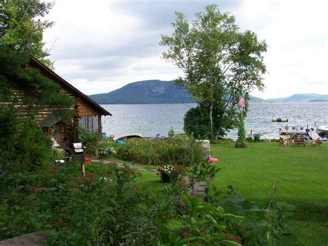 Lake George Log Cabin Rentals by Beautiful Lakefront Log Cabin On Lake Homeaway Hague