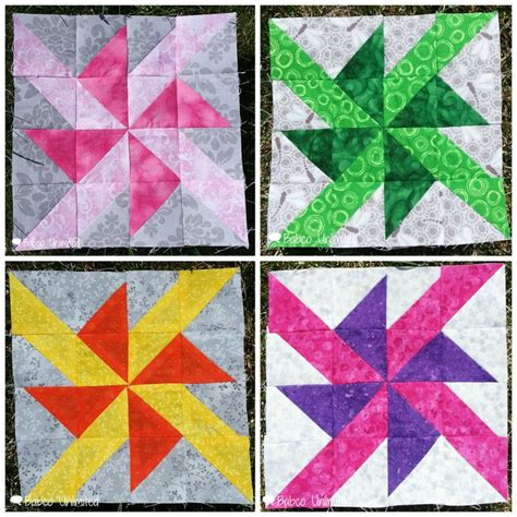 Pinwheel Patchwork - pinwheel quilt blocks patchwork patrones