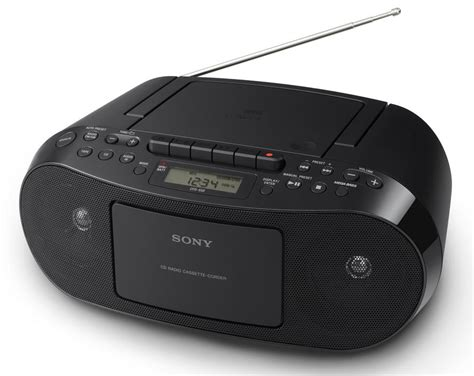radio cassette cd sony cfd s70 portable cd cassette am fm radio boombox