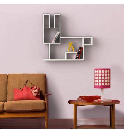 Mensole Per Cameretta Bambini Bunny Mensola Design A Muro In Legno Per Cameretta Bambini