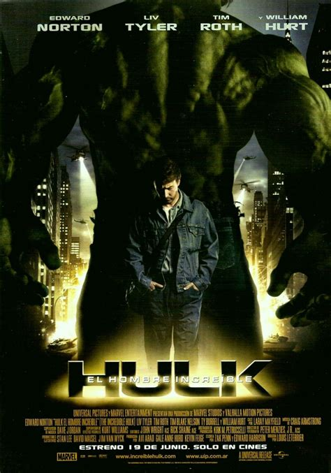 The Incredible Hulk 2008 Film Incredible Hulk The 2008 Poster Freemovieposters Net