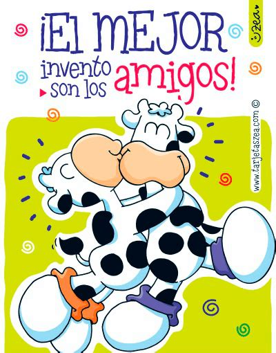 imagenes con frase de amor y vacas animadas brindemos por la amistad vacas abrazadas 169 zea www