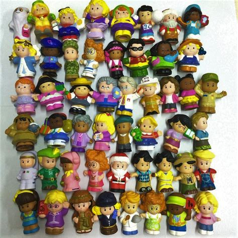 Fisherprice Littlepeople random 10pcs fisher price collection