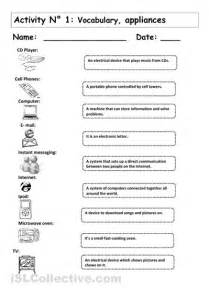 Worksheets For Computer Class by Computer Technology Worksheets Electrical Devices