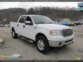 2007 ford f150 lariat supercrew 4x4 oxford white