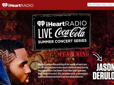 Summer Concert Sweepstakes - iheartradio live coca cola summer concert sweepstakes