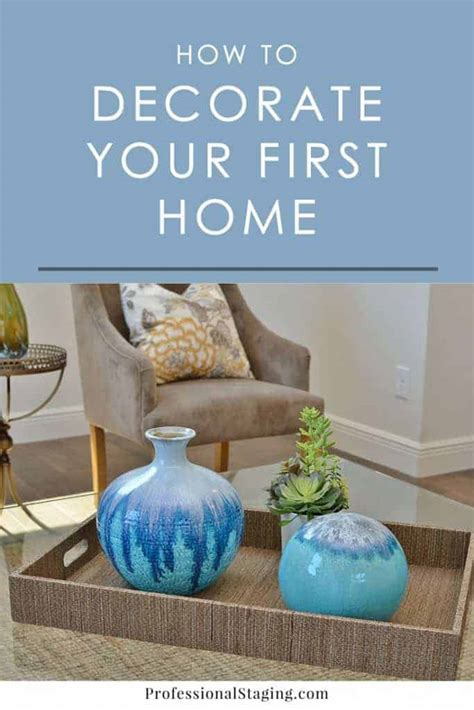 How To Decorate Your First Home | how to decorate your first place