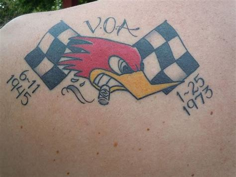 racing flag tattoo designs car tattoos and designs page 30