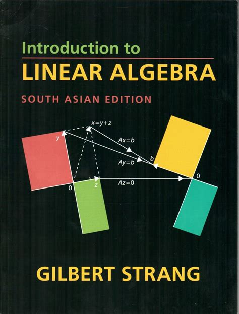 numerical linear algebra an introduction cambridge texts in applied mathematics books introduction to linear algebra 4th edition buy