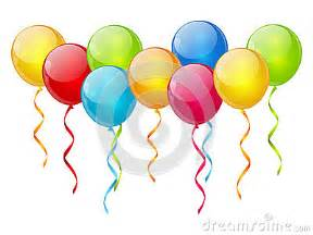 birthday balloon background stock photography image