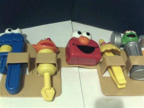 sesame street tool bench sesame street elmo toolbench tool belt with cookie monster