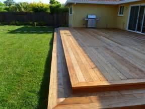 Simple Backyard Deck Ideas 25 Best Ideas About Low Deck On Pinterest Backyard