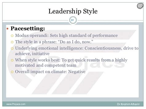 pacesetter leadership definition leadership definition by lyn battaglino pmp