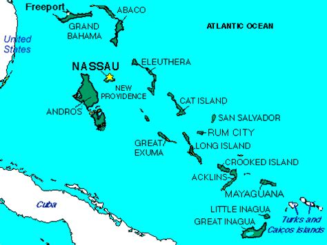 5 themes of geography bahamas bahamas geography map