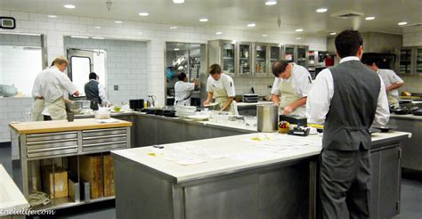 Kitchen Restaurant by 3 Charming Michelin At The Restaurant Meadowood