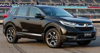 spied 2017 honda cr v caught testing in malaysia