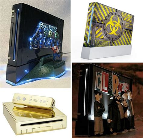 wii console mods your box 40 cool gaming console mods hacks