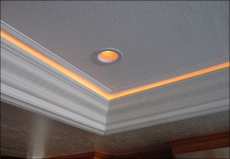 Beautiful Lighted Crown Molding HOUSE EXTERIOR AND INTERIOR : Lighted Crown Molding Design
