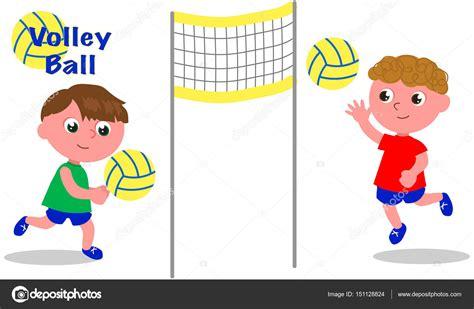 imagenes de niños jugando volibol jugadores de pelota de voley archivo im 225 genes