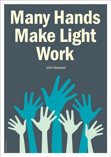Many Make Light Work Origin by 28 Make Light Work At Our Quot Many Make