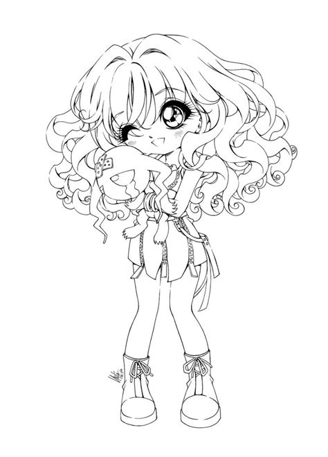 coloring pages chibi printable chibi coloring pages coloring me