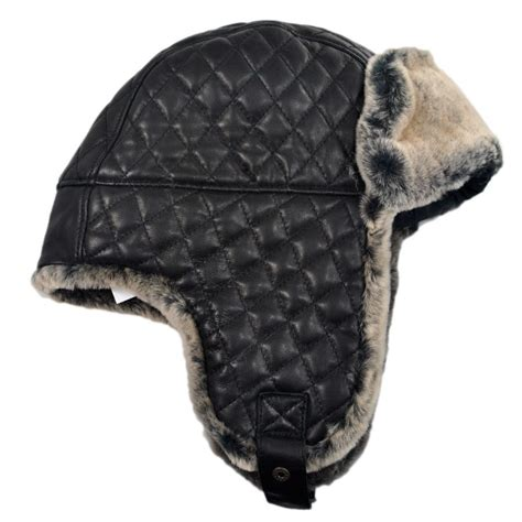 Trapper Hat bailey dorsey leather trapper hat trapper hats