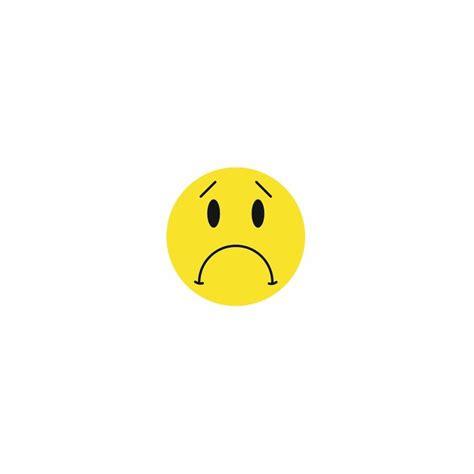 Smiley Deco Sticker by Sticker Smiley Pas Content Etiquette Autocollant