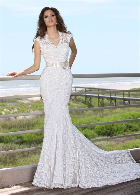 Sheath Wedding Dresses Picture Collection   Dressed Up Girl