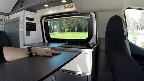 portable   table recon campers nissan nv