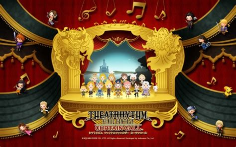 theatrhythm final fantasy curtain call 3ds first impressions theatrhythm final fantasy curtain call