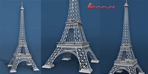 eiffel tower model template photo collection free 3d eiffel tower