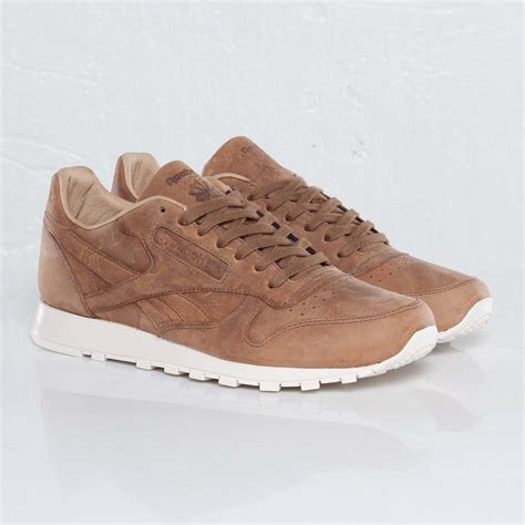 Classic Leather by Reebok Classic Leather Brown Olympic Creme Gold