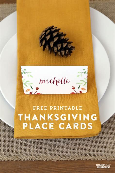 thanksgiving place card holder templates thanksgiving place card and tent card printables