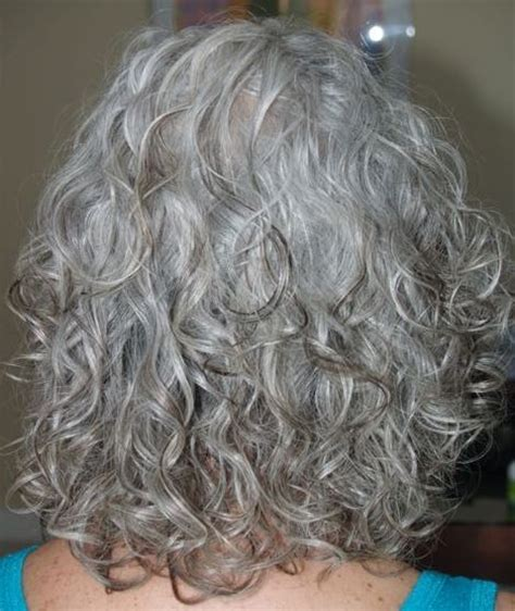 home perm on natural grey hair live curly live free curl gallery curlies pinterest
